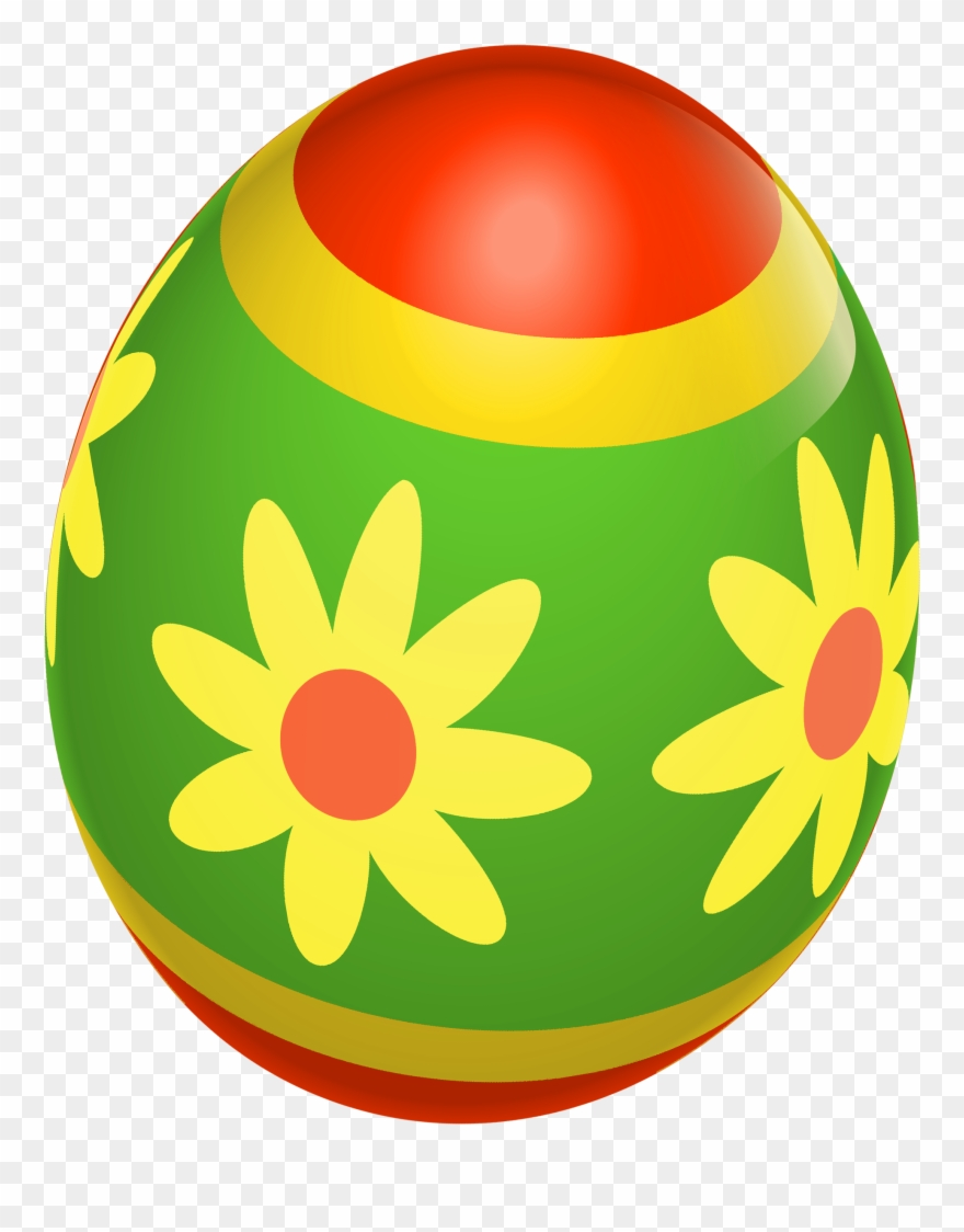 Green Easter Egg Png Clipart (#33814).