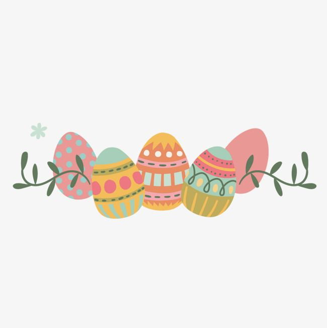 Easter Eggs, Painting, Egg, Decoration PNG and Vector with.