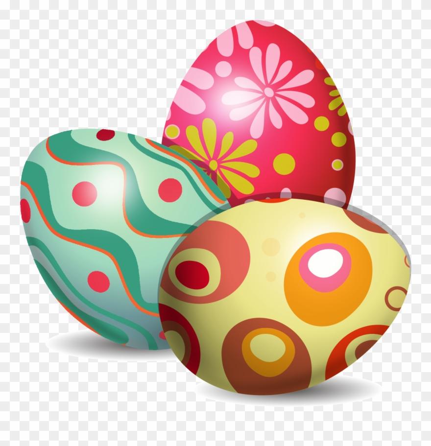 Easter Bunny Easter Egg Euclidean Vector Egg Decorating.