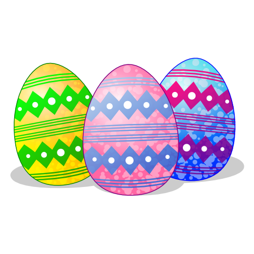 Free clipart easter eggs.