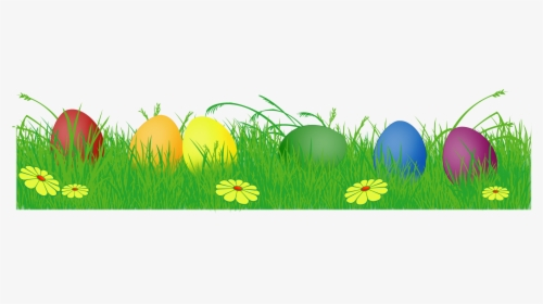 Easter Eggs In Grass Png For Kids.