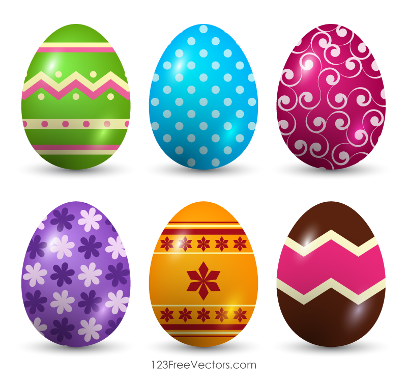 Easter Egg Vector Free Download.