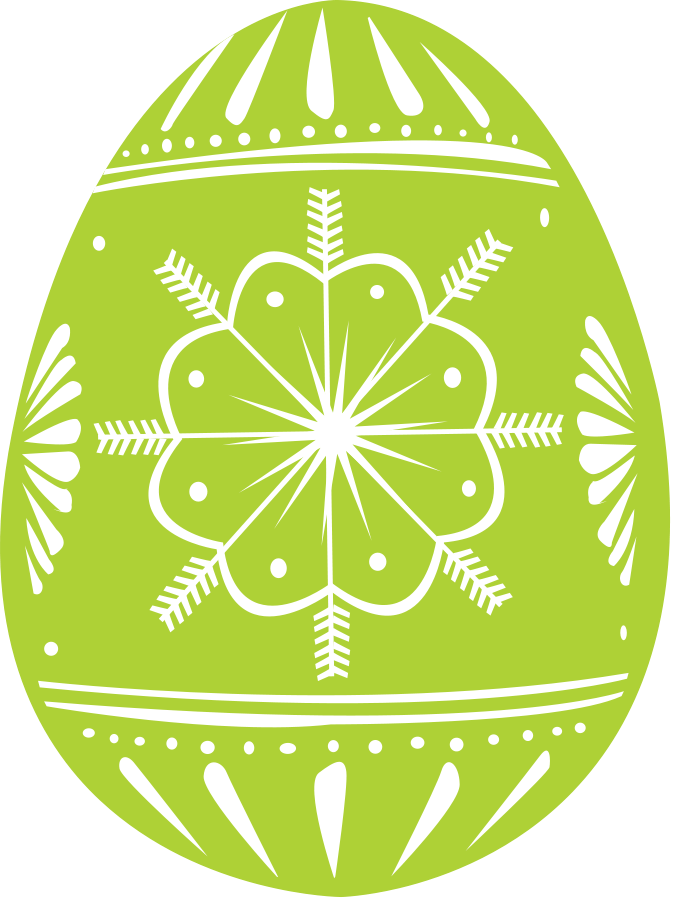 Easter Eggs Vector Clipart