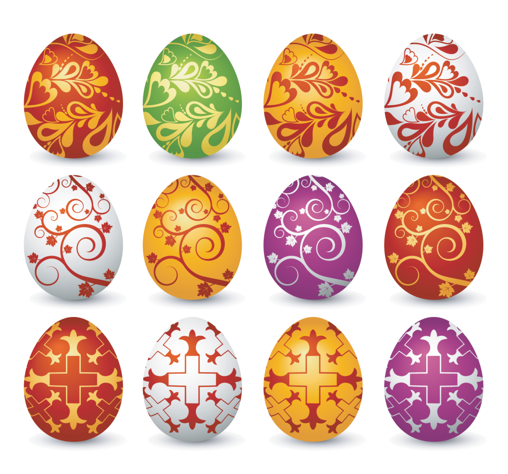 Easter Eggs Png Easter egg vector.
