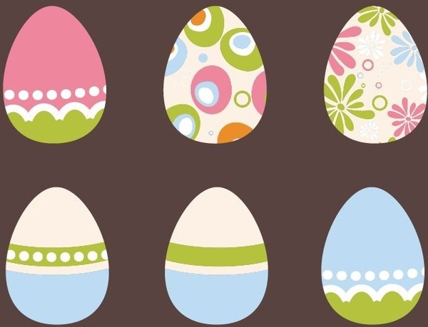 Easter eggs vector free vector download (810 Free vector) for.