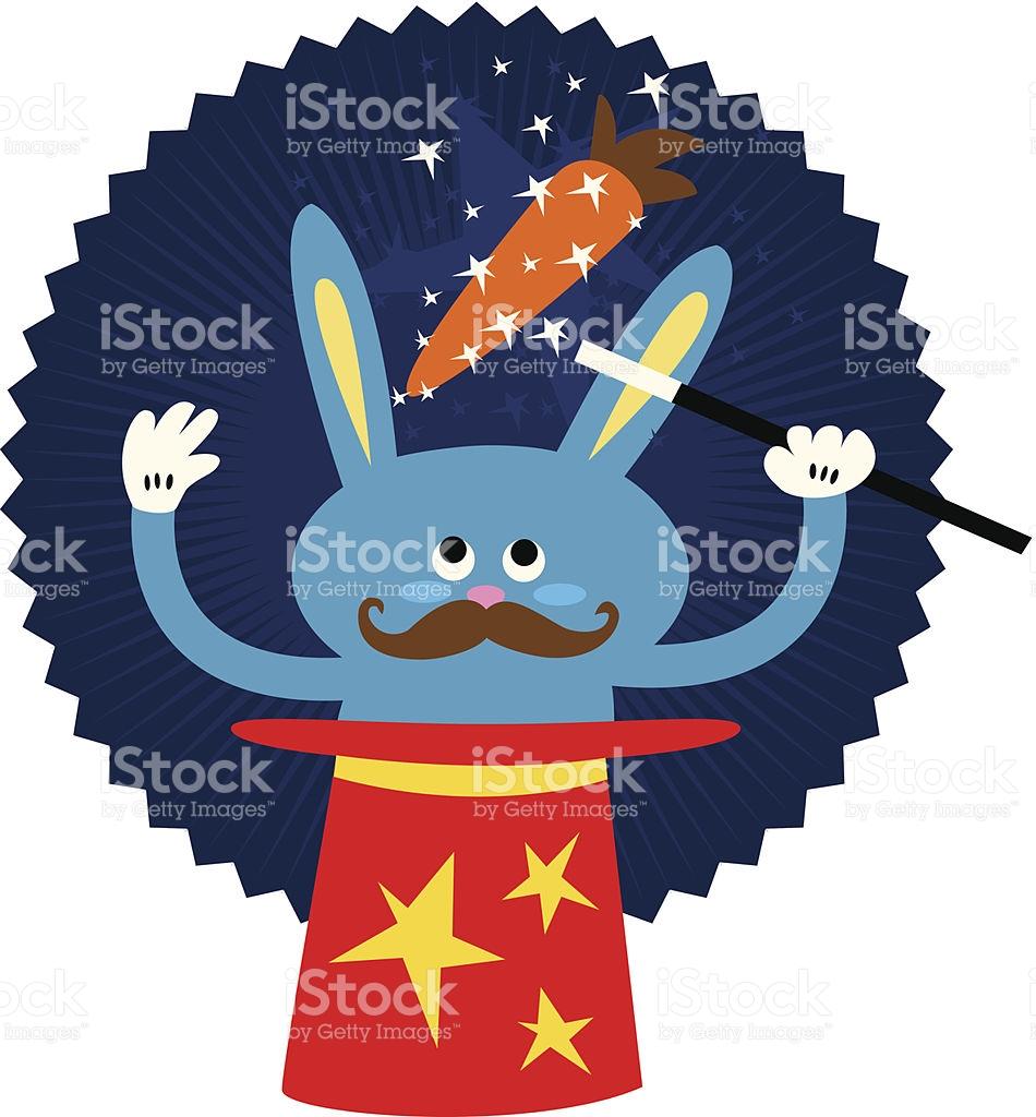 Magic Rabbit stock vector art 166008297.