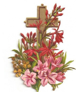 Easter Flower Clipart.