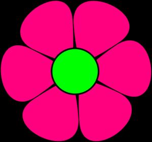 Easter Flower Clip Art.