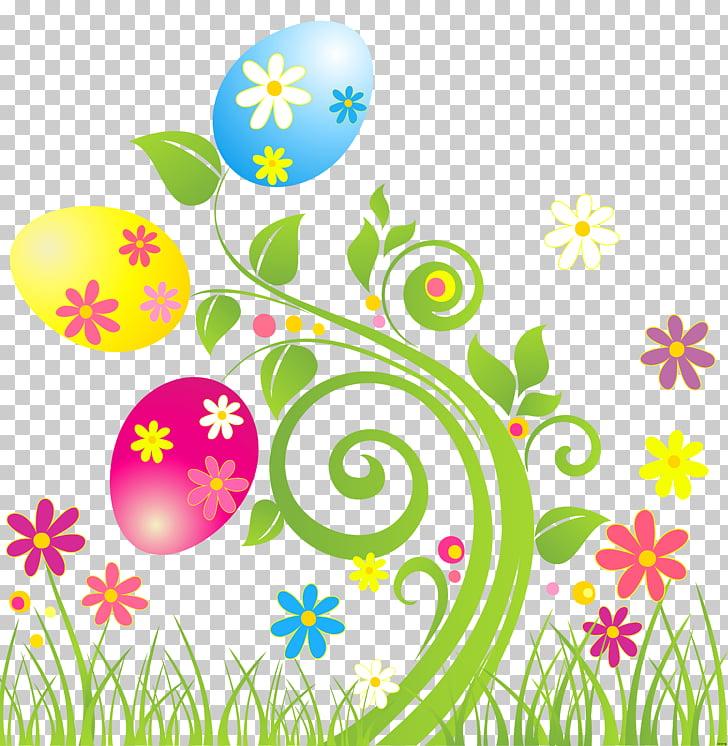 Easter egg Flower , easter flowers PNG clipart.