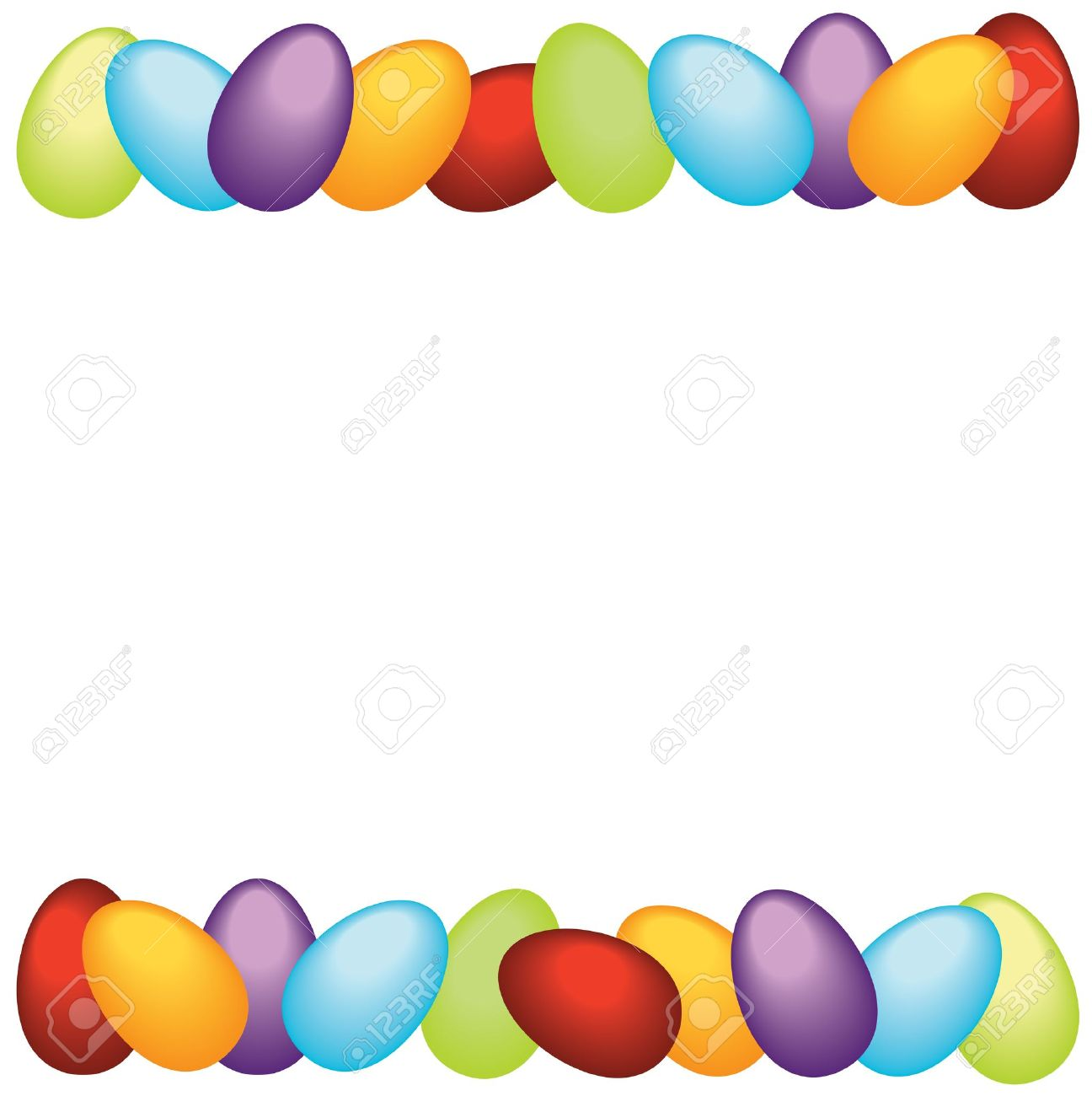 Easter Border Clipart Free.