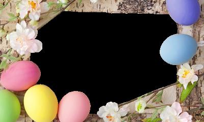 Easter Frames PNG Pic.