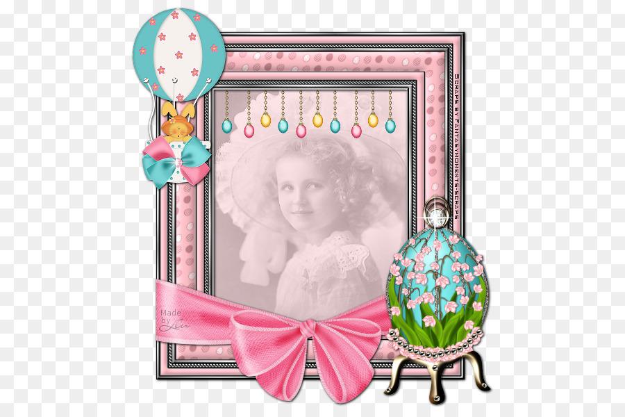 Background Pink Frame png download.