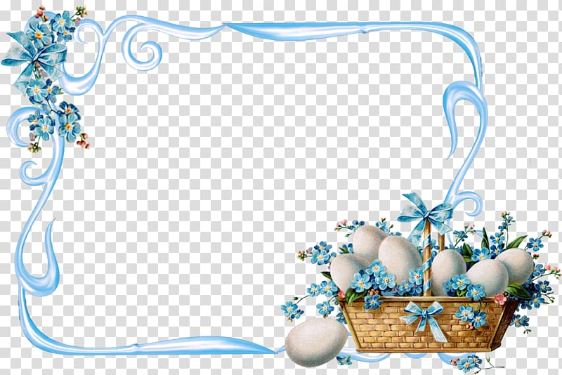 Easter Holiday Frames Paschal greeting, easter frame transparent.
