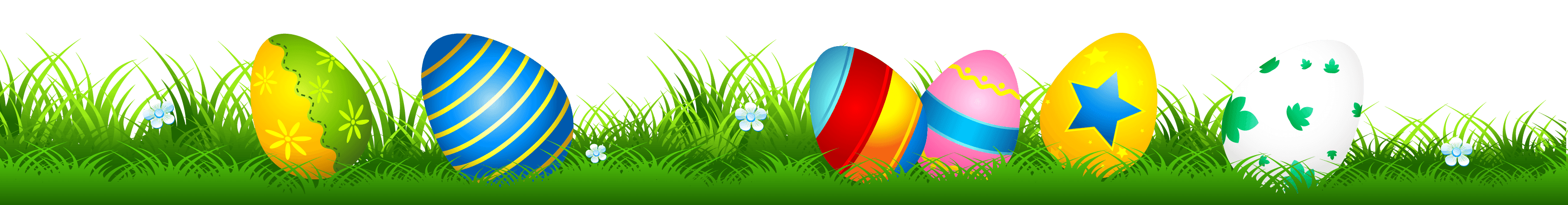 Easter Grass Cliparts.