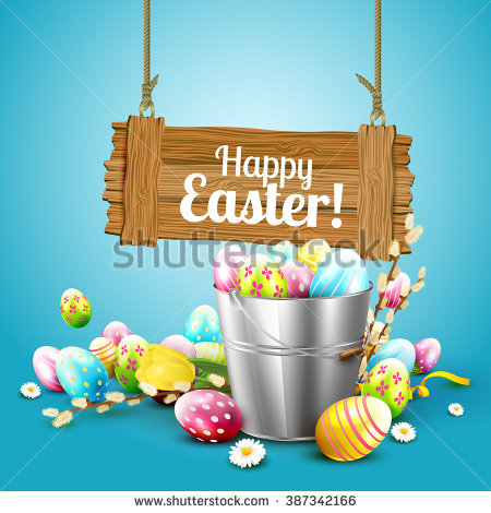 Easter Elements Stock Photos, Royalty.