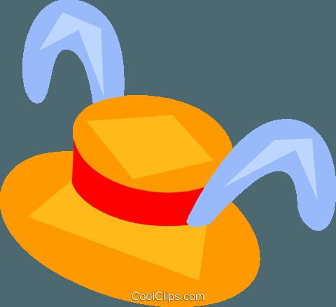 Easter clip art hat.