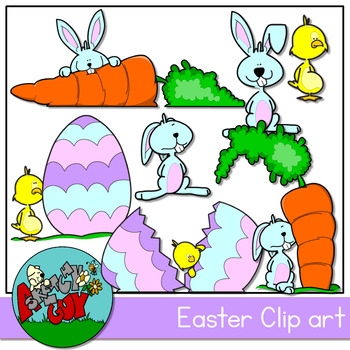 Easter / Spring Holiday Clipart.