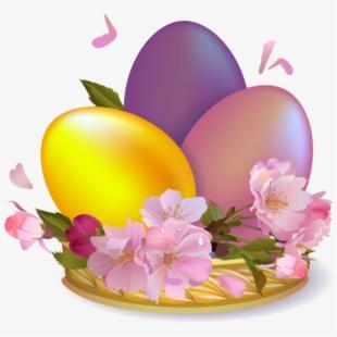 Easter Eggs Clip Art.
