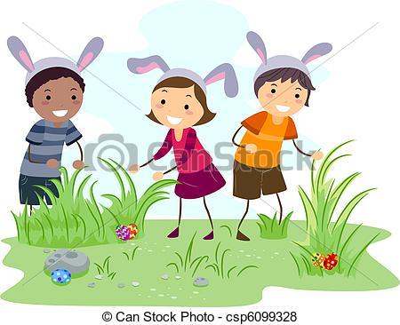 Egg hunt Illustrations and Clip Art. 5,521 Egg hunt royalty free.