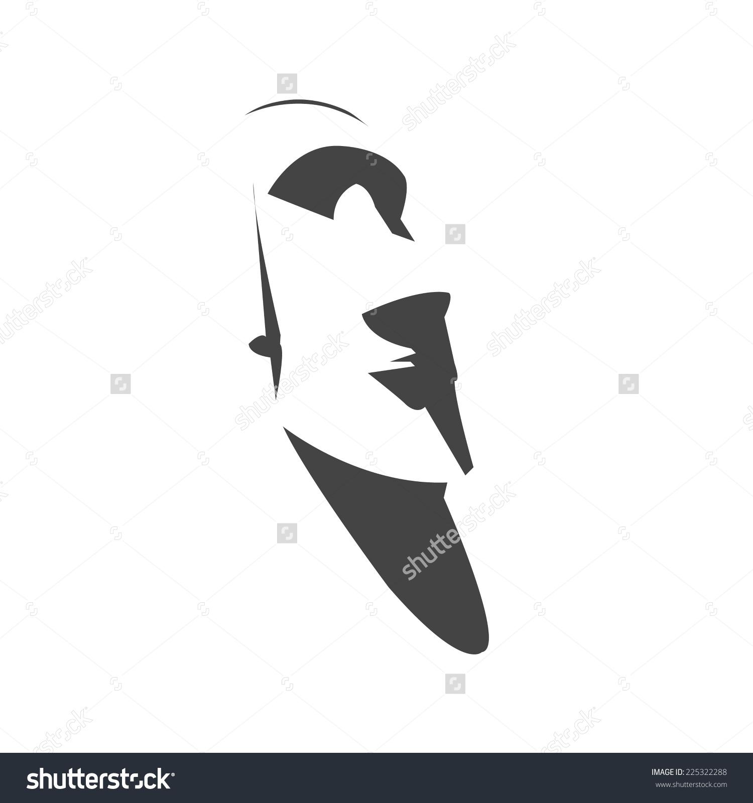 Easter Island Head Stock Vectors & Vector Clip Art.