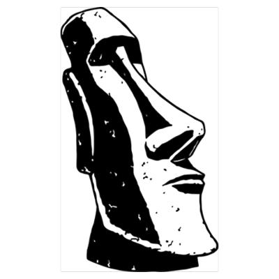 Easter island clipart.