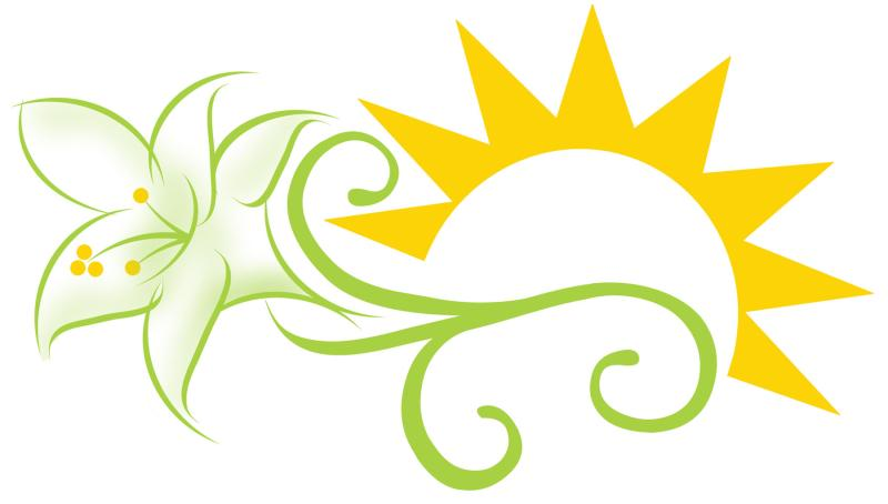 Easter lily clipart black and white ourclipart jpg.