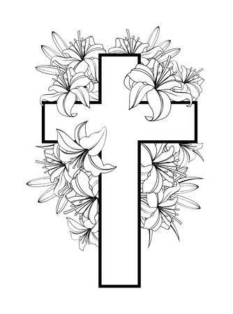 Easter lily clipart black and white 5 » Clipart Portal.