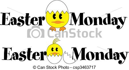 20 Pictures with wishes for Easter Monday..