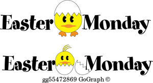 Easter Monday Clip Art.