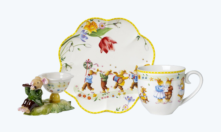 Easter collections from Villeroy & Boch.