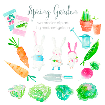 Bunnies Clipart Bunny Clip Art Garden Party Invite Clipart Easter Printables.