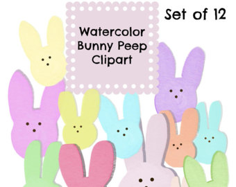 Easter peep clipart.