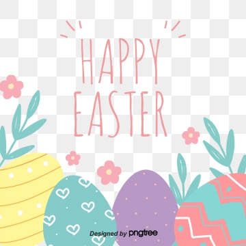 Easter Eggs PNG Images.