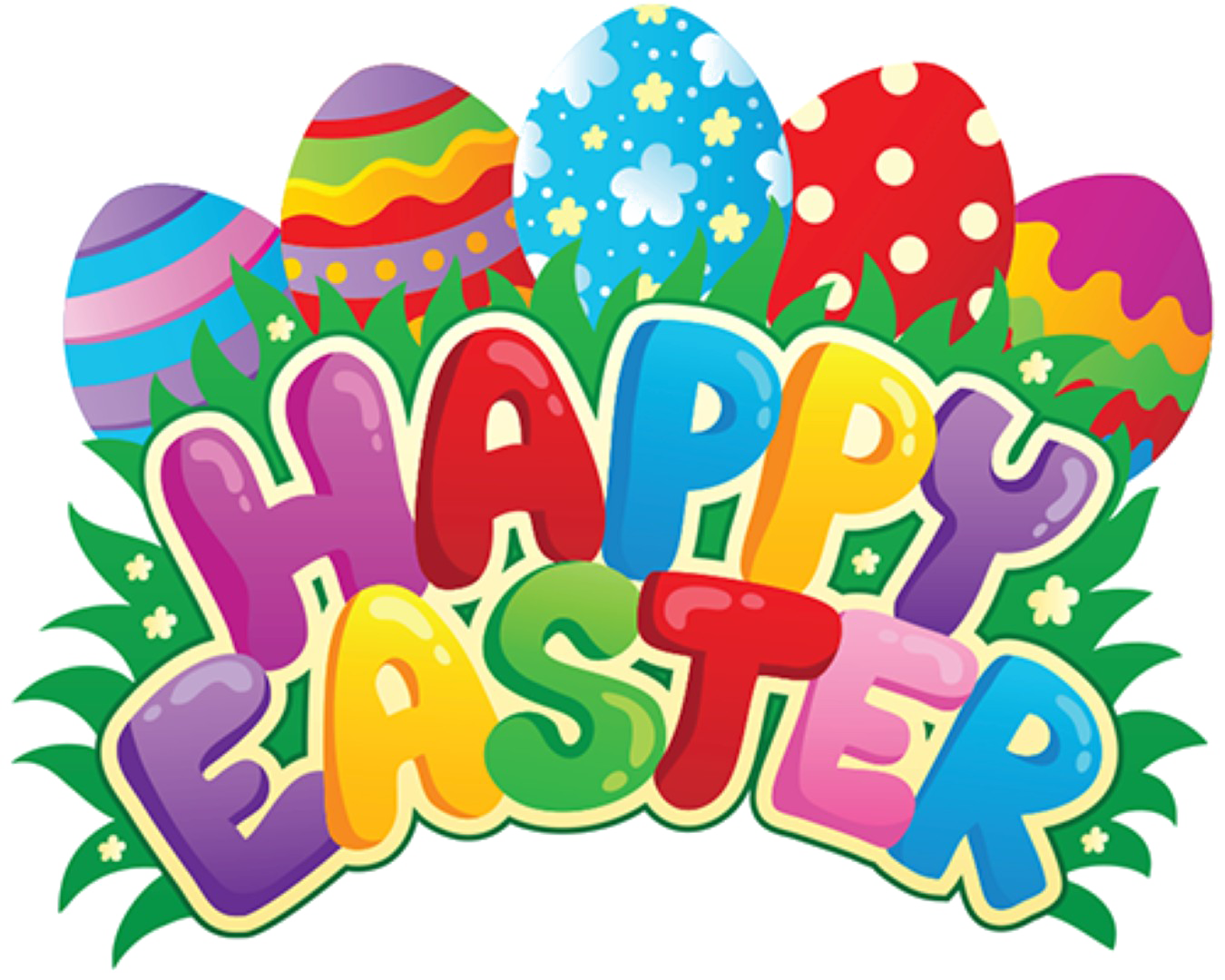 Happy Easter PNG Pic.