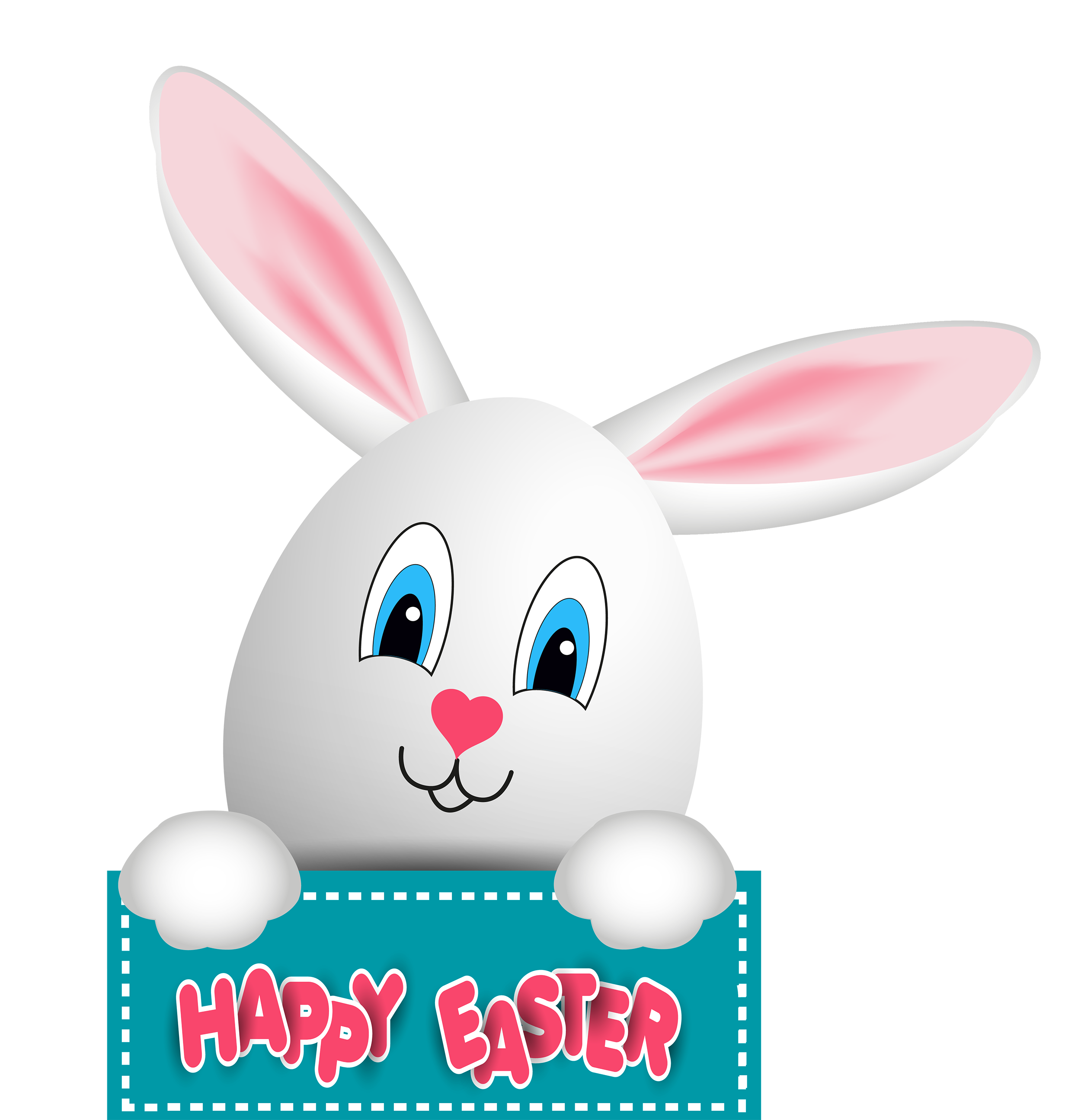 Easter Bunny PNG Clip Art.