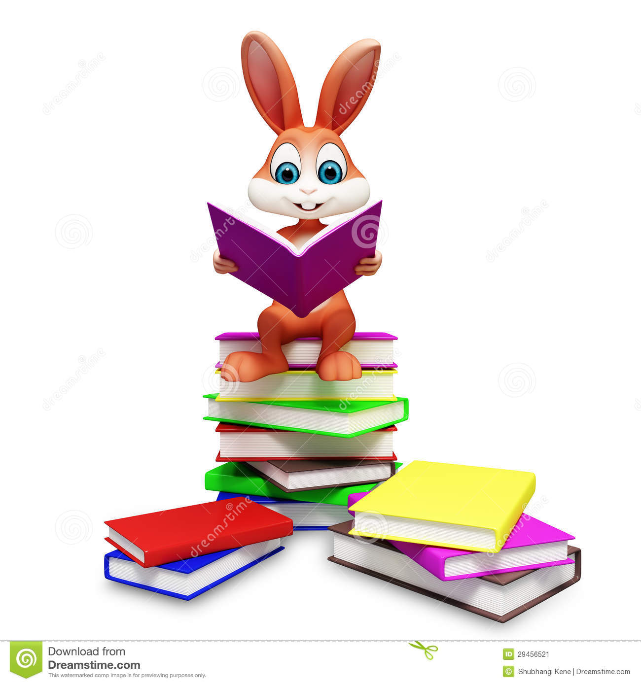 Easter Books Clip Art.