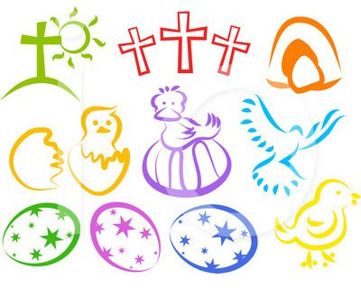 Good Friday And Easter Religious Clipart.