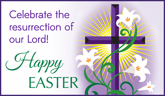 Happy easter religious clipart 5 » Clipart Station.
