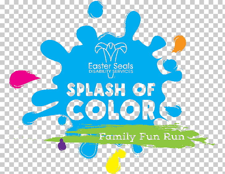 Splash of Color 2018, Family Fun Run (or Walk/Roll!) Easter.