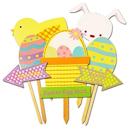 Amazon.com : Easter Egg Hunt Decorations Set.
