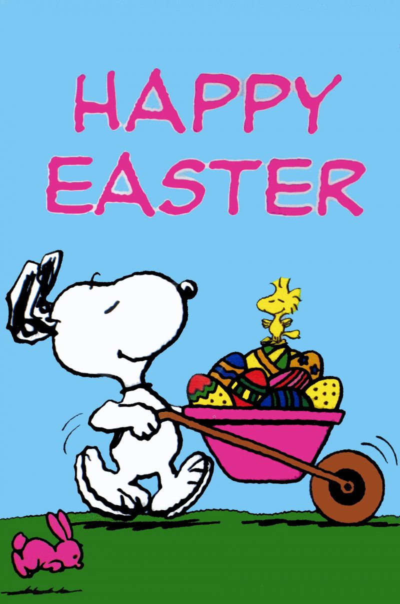Snoopy Easter Flag Snoopn4pnuts Com clipart free image.