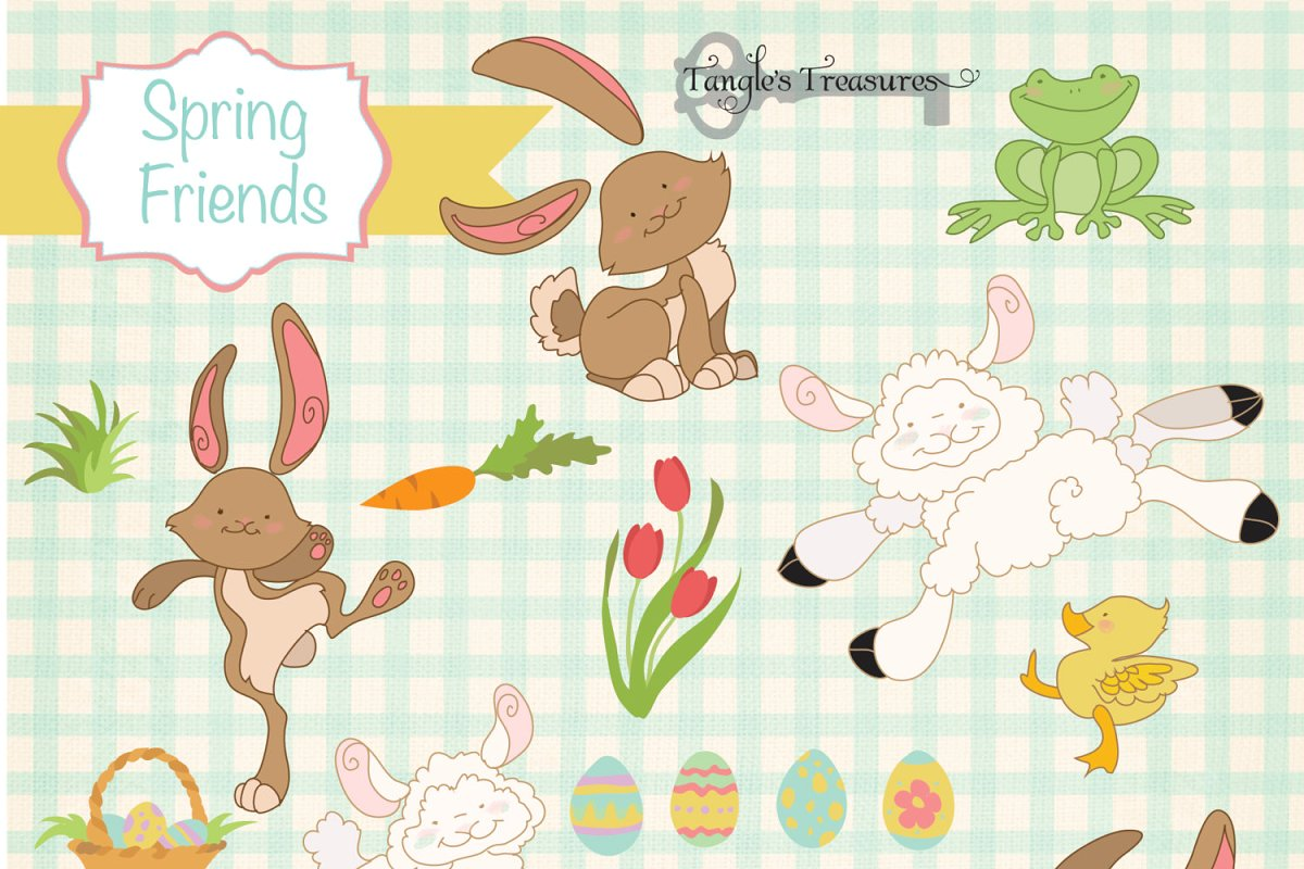 Easter/Spring Clipart.