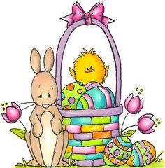 Easter clip art spring.