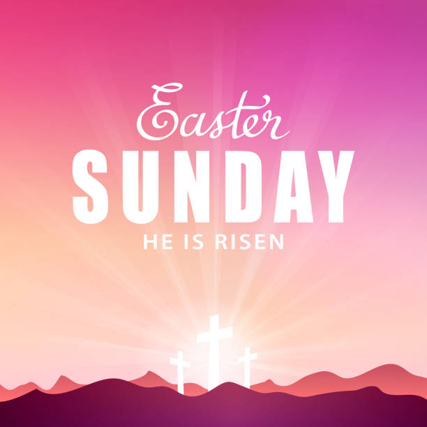 Best Easter Sunday Illustrations, Royalty.