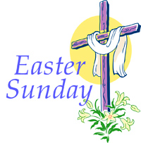 Free clipart for easter sunday.