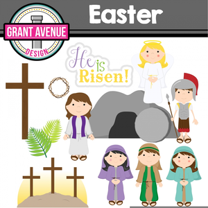 Easter Sunday School Clipart.