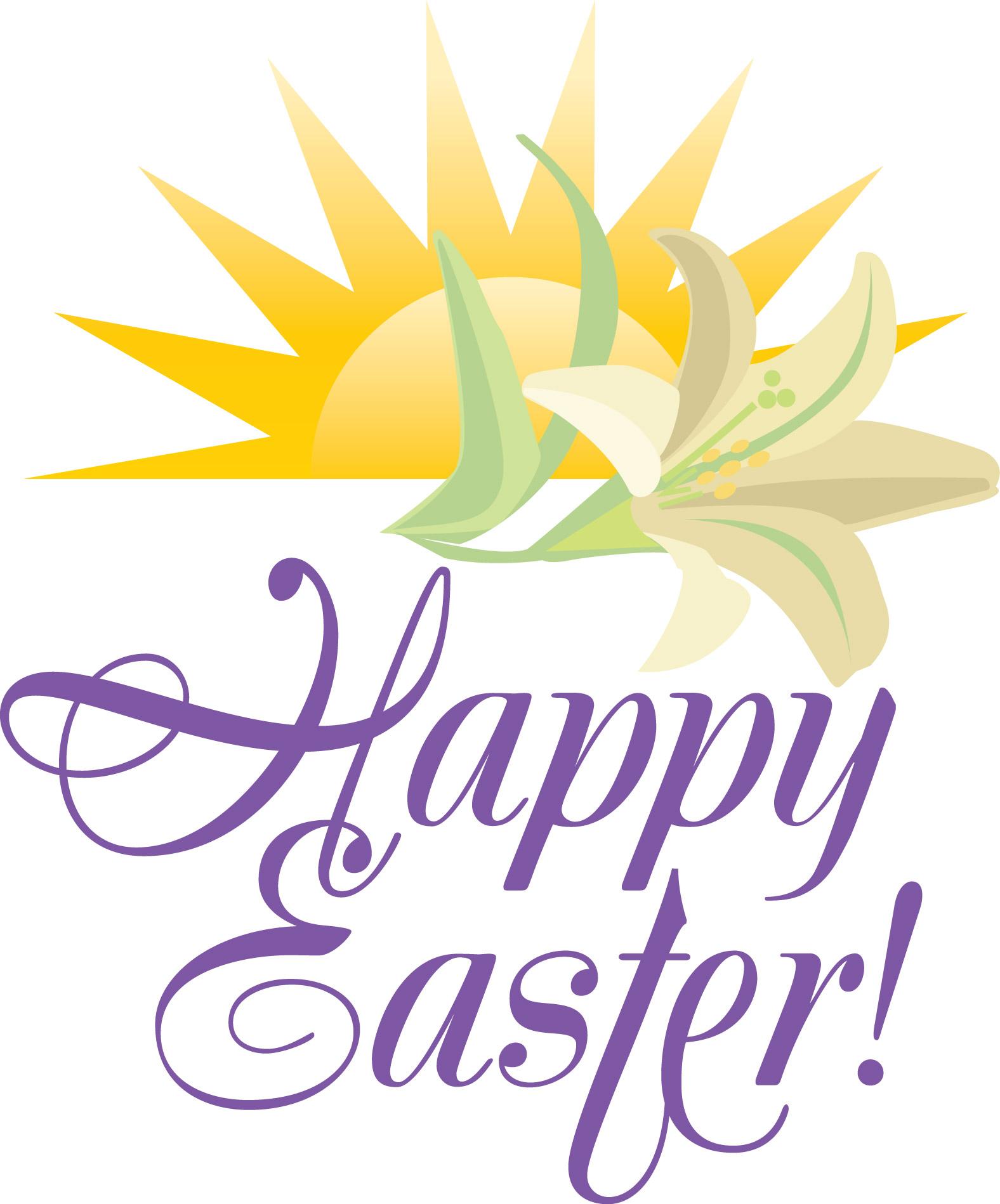 Easter Sunday Sunrise Service Clip Art Free free image.
