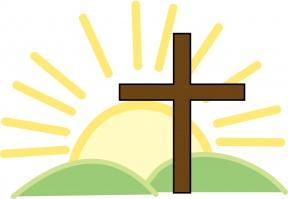 Easter sunrise service clipart.