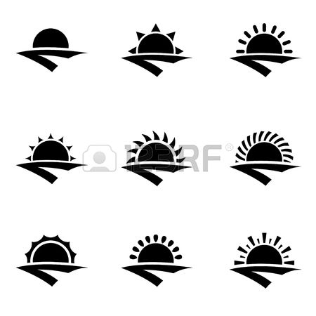 Easter Sunrise Clipart Black And White Clipground
