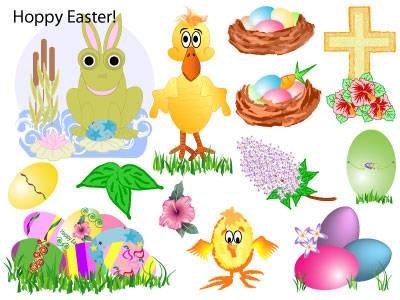 Easter clip art symbol.